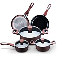MR. Captain 8-Piece Nonstick Cookware Set