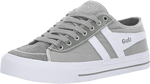 Gola Mädchen Quota II Sneaker, Grey (Light Grey/White Lg), 36 EU