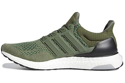 adidas Ultraboost 1.0 LTD Olive Responsive Running Shoes, Size 8.5 Green