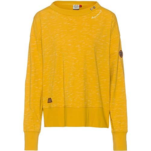 Ragwear Damen Fidli Sweatshirt gelb M
