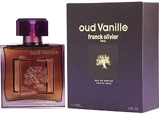 OUD VANILLE BY FRANCK OLIVIER COLOGNE FOR MEN 3.4 OZ/100 ML EAU DE PARFUM SPRAY