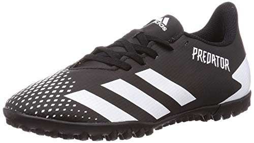 adidas Predator 20.4 TF, Zapatillas de fútbol Hombre, NEGBÁS/FTWBLA/NEGBÁS, 42 EU