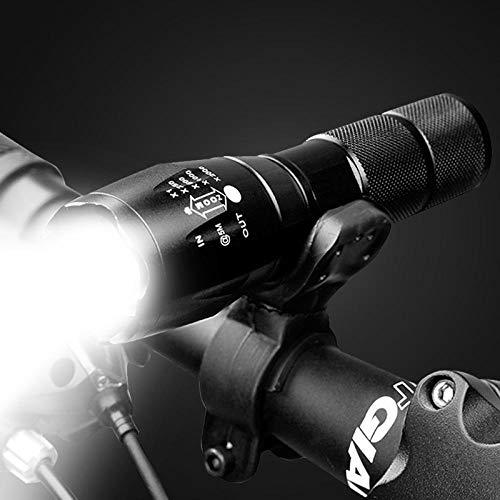 JLZK Frontlicht Und Rücklicht Licht Für Fahrrad Fahrradbeleuchtung Mountainbike Rennradbeleuchtung Taschenlampe