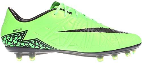 Nike Hypervenom Phinish FG APPL GRN/Mtllc SLVR-YLLW Strk - 7.5
