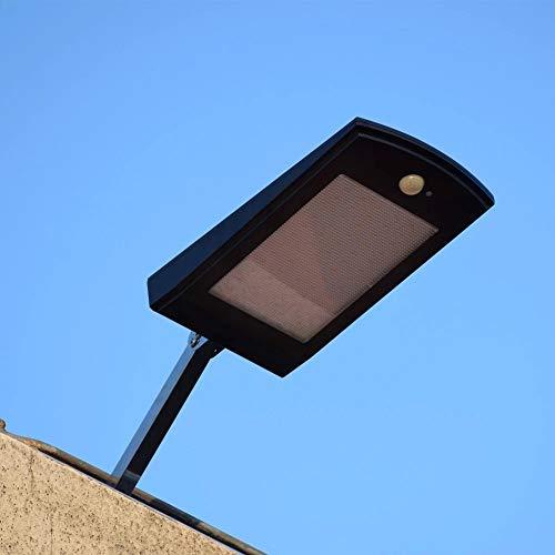 GDXFSM Outdoor Street Light 60 LED Birne Solar Pir Bewegungssensor Auto Lampe Für den Weg Outdoor Beleuchtung Wasserdicht mit verstellbarem Pol