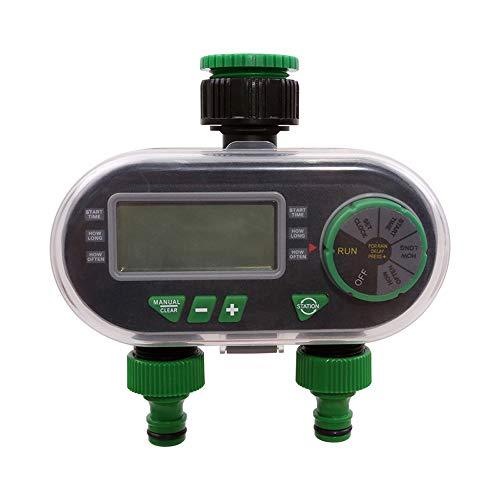 Zootealy YL21060 programmatore per irrigazione con elettrovalvola elettronica per irrigazione, adatto per giardini, fattorie, orti, serre