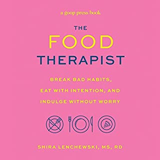 The Food Therapist audiobook cover art