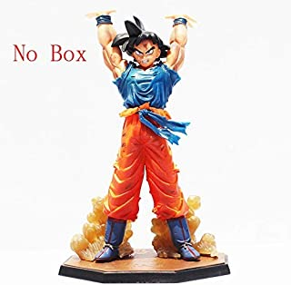 hkp Anime Dragon Ball Z Figuarts Zero Son Goku Spirit Bomb Ver Action Figure Collection Model Toy 16CM (Without Box)