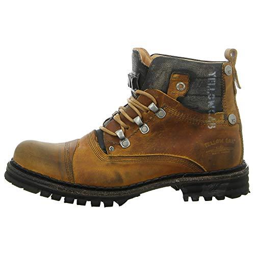Yellow Cab Y15473 Sergeant 1-A - Herren Schuhe Boots/Stiefel - Dark-Yellow, Größe:46 EU