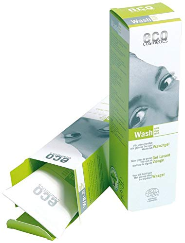 eco cosmetics Bio Waschgel mit grünem Tee und Weinblatt (2 x 125 ml)