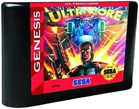 Royal Retro Ultracore - USA Label Flashkit MD Electroless Gold PCB Card pour console de jeu vidéo Sega Genesis Megadrive (...