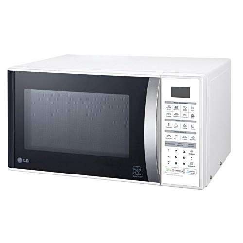 Micro-ondas LG Easy Clean Branco 30L MS3052R - 110V