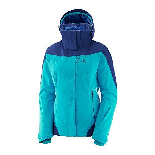 Salomon Damen Icerocket Jacke, Blau (bluebird), S