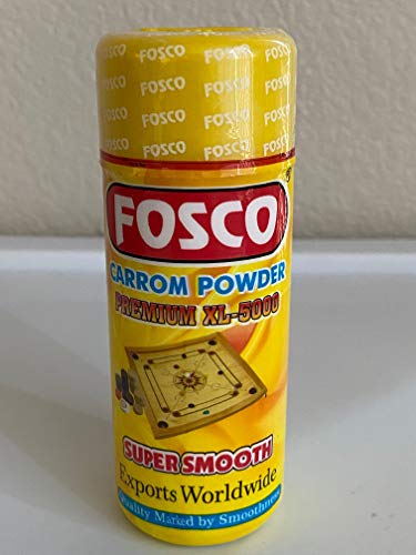 FOSCO Smooth Carrom Board Powder, 70gm