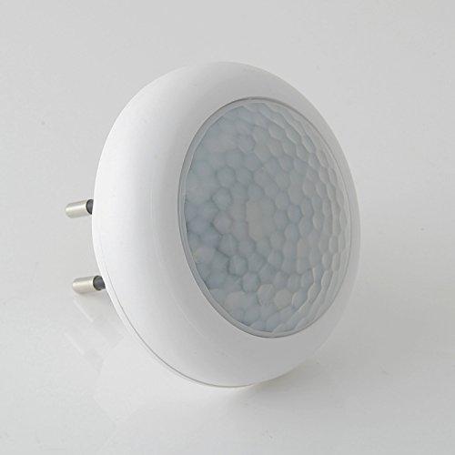 LUCE LED AUTOMATICA COMANDATA DA SENSORE DI PRESENZA - 8 LED