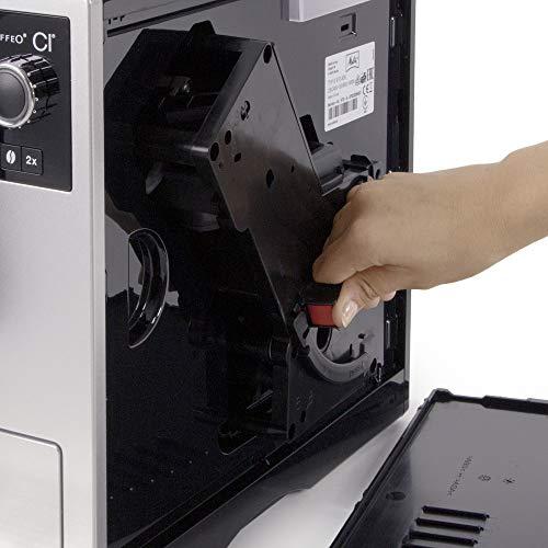 Entnehmbare Brüheinheit des des Melitta Kaffeevollautomaten