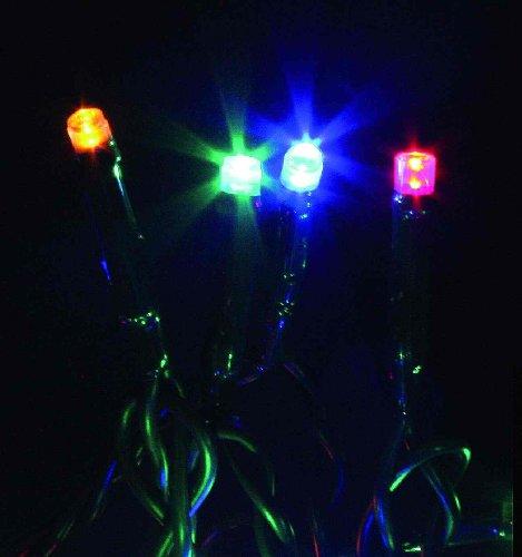 Giocoplast Natale Lot de 20 verres LED multicolores.