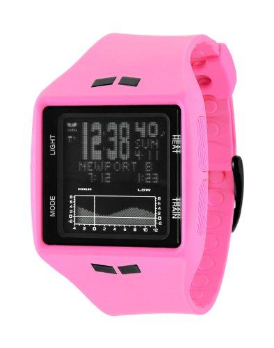 Vestal Unisex BRG015 Brig Tide and Train Hot Pink Watch
