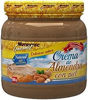 Nutrytec - Crema de Almendras con Piel - 500g: Amazon.es ...