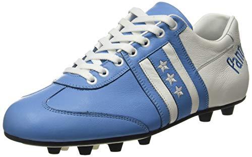 Pantofola D'oro Piceno, Scarpe da Calcio Uomo, Azzurro/Bianc