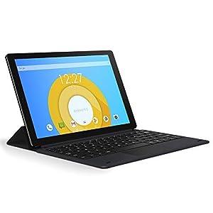 CHUWI HiPad X 10.1'' Tablet PC 4G LTE 4G RAM+128G ROM Android 10 (MT6771V) octa core hasta 2.0GHz Dual SIM 1920x1200 FHD,5+8MP Cámara, WiFi+Cellular+GPS,Bluetooth 5.0, 7000mAh,Type-c,Teclado magnético