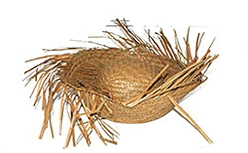 Chapeau De Paille - Hawai - Taille Unique