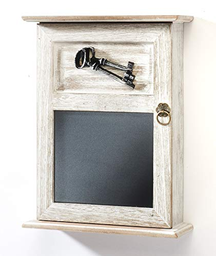 Kobolo Schlüsselkasten Schlüsselbox Schlüsselschrank - Keys - Holz - 22x8x28 cm