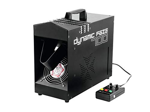 EUROLITE Dynamic Faze 700 Dunstnebelmaschine | Kompakter Fazer für feinen Dunst, betrieben mit herkömmlichen Fluid