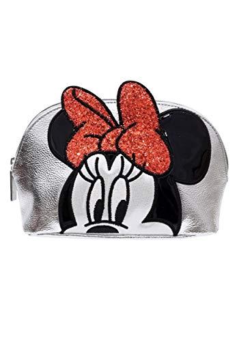 DANIELLE NICOLE - Disney Silber Kosmetiktasche Minnie Mouse