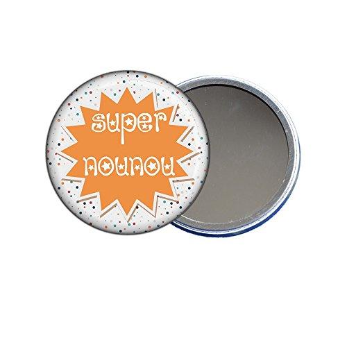 ANGORA Miroir de Poche Super Nounou Orange