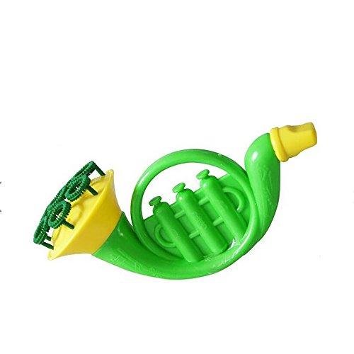 Yue668 Trompete Bubble Shooter Blasenspender Wasser Blasen Seifenblase Gebläse Interaktives Spielzeug Für Outdoor Kinder Kind