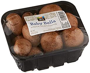 365 Everyday Value Baby Bella Whole Mushrooms, 8 oz