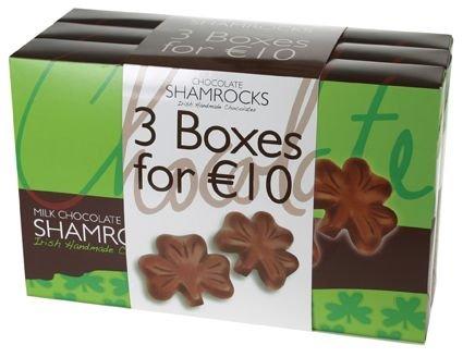 Schokoladen-Kleeblätter aus Irland