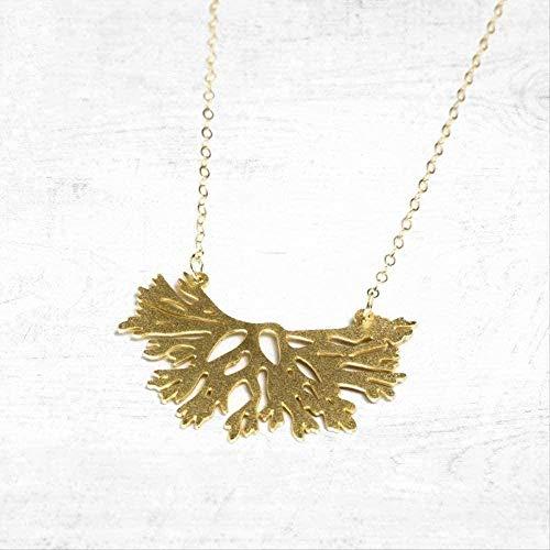ZGYFJCH Co.,ltd Collar Collar Collar de Coral único Collares Pendientes Joyas para Hombres y Mujeres