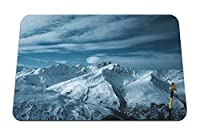 26cmx21cm マウスパッド (山岳高雪) パターンカスタムの マウスパッド