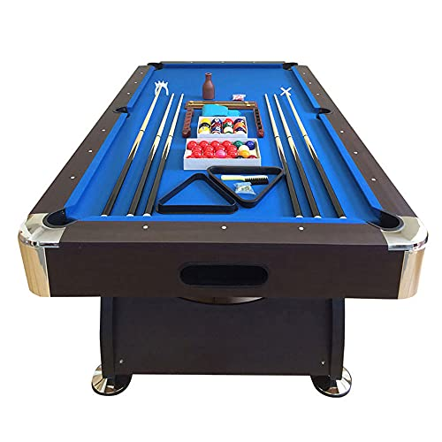 Mesa de billard 8 pies azul Snooker completa de accesorios - Viper Blue