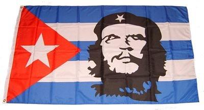 Fahne / Flagge Kuba - Che Guevara 90 x 150 cm Flaggen
