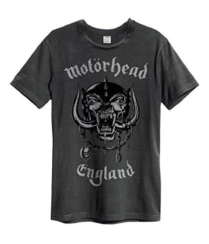 Amplified Motörhead England T-Shirt, Größe:M;Farbe:Charcoal
