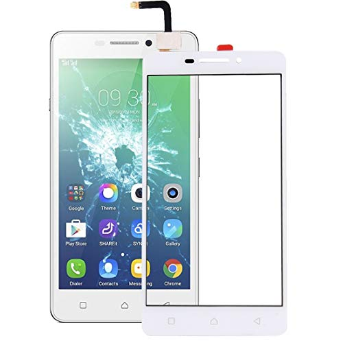 Liluyao Mobile parts For Lenovo Vibe P1m Touch Panel(Black) (Color : White)