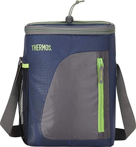 THERMOS Kühltasche Radiance small 8,5 Liter - Isolierte Einkaufstasche aus Polyester, blau 20,3 x 14 x 30 cm - Faltbare Isoliertasche für Kindergarten, Schule, Büro, Auto oder Urlaub - 4081.252.085