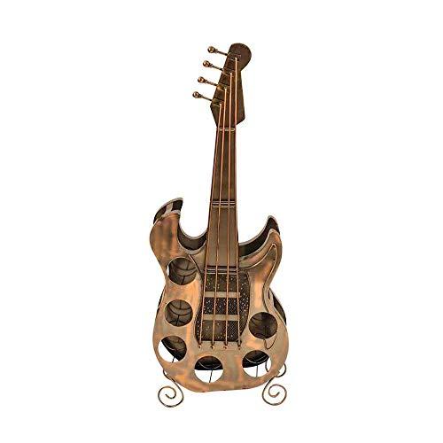 Exklusives Weinregal in Form einer Gitarre Höhe 104 cm