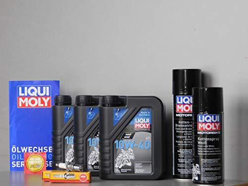 MotorFunSports Wartungs - Set Honda CB 350 K Zündkerze, Inspektion, Öl, Servicekit