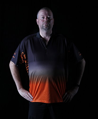 Unicorn Herren Trikot Team Raymond Van Barneveld XXXX-Large Orange
