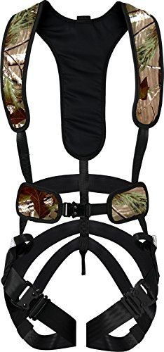Hunter Safety System X-1 Bow-Hunter Harness for Tree-Stand Hunting, Lightweight Comfortable Safe All-Season Great Mobility, Large/X-Large, Camo