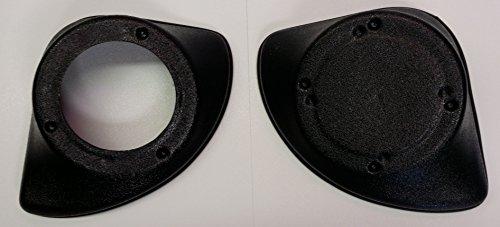 Kick-Panel Car Speaker Enclosures