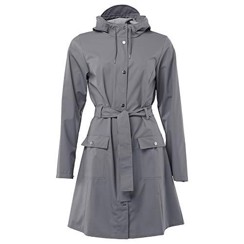 RAINS Damen Curve Jacket Weste, Charcoal, L/XL