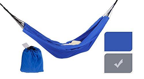 Trendfinding Strand Garden Camping hangmat mat voor buiten buiten 140 x 200 cm, tot 100 kg belastbaar