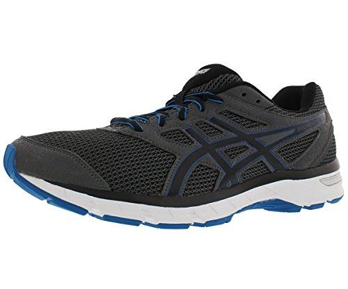 ASICS Men's Gel-Excite 4 Carbon/Black/Blue Running Shoe 8M