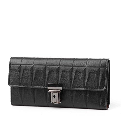 borsa donna long box/In rilievo il 30 per cento in Velcro Fermasoldi/Borse donna