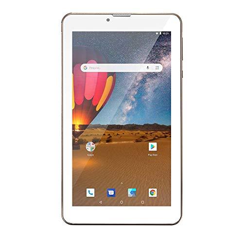 Tablet, M7 3G Plus Dual Chip Quad Core 1 GB de RAM Memória 16 GB Tela 7 Polegadas, Multilaser, NB306, Dourado